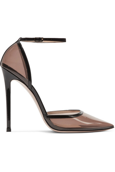 Gianvito Rossi - 110 PVC and patent-leather pumps