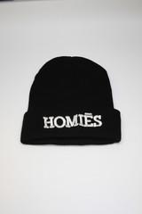 Homies Beanie - White | Obsezz
