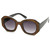 Trendy Womens Fashion Block Cut Hexagon Oversize Sunglasses 9158                           | zeroUV