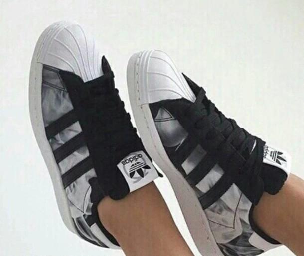 premium selection 51762 c727c shoes grey white black hipster shoes hipster tumblr shoes grey shoes white  shoes adidas adidas shoes