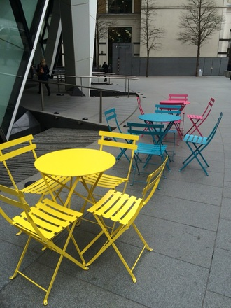 home accessory chair table colorful london