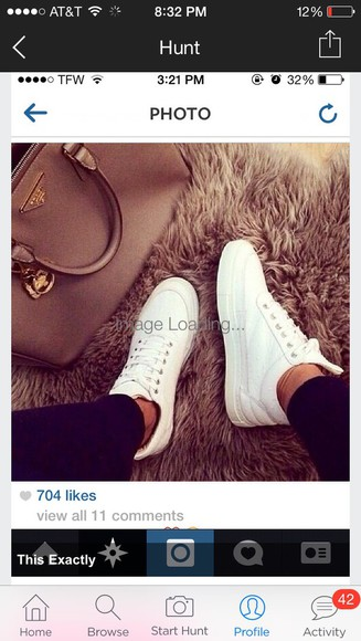 sneakers high sneakers bag