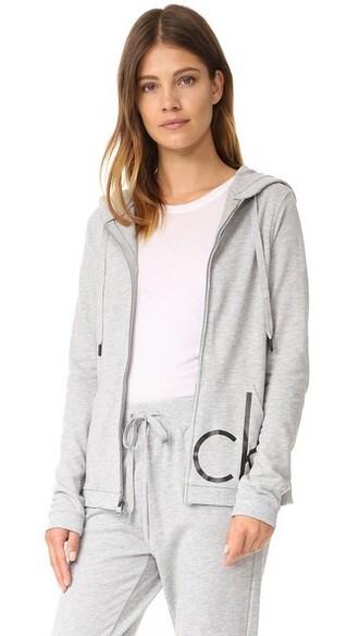 hoodie grey sweater