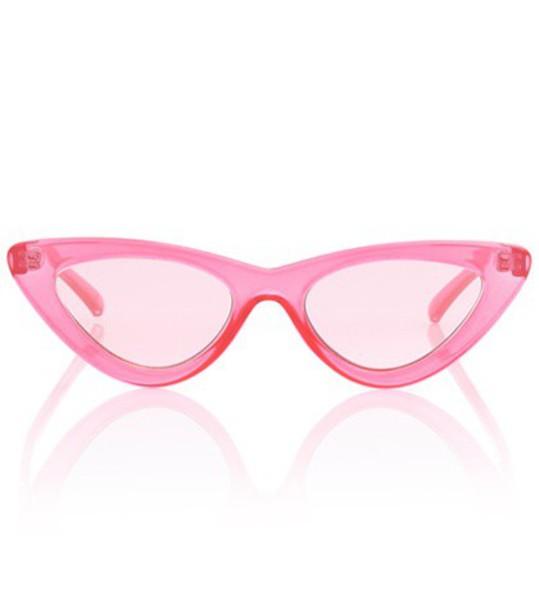 Le Specs lolita sunglasses pink
