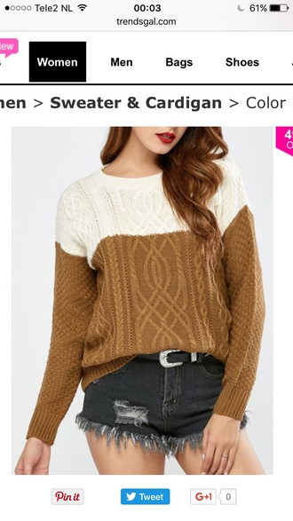sweater knitwear long sleeves fashion style trendy warm fall outfits fall sweater trendsgal.com