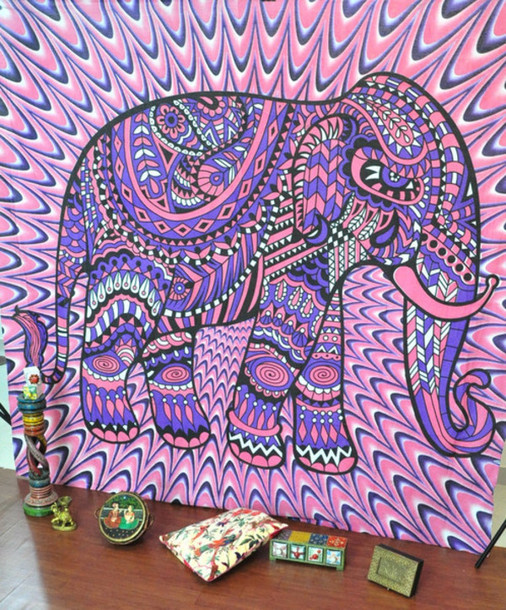Bohemian Tapestry Wall Hanging home accessory: elephant tapestry, tapestry, wall hanging