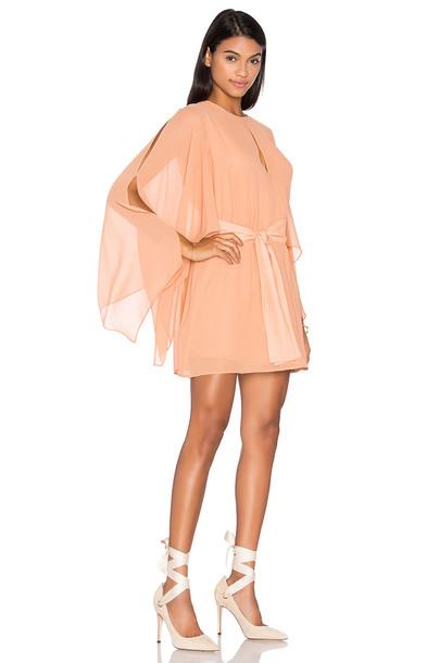 Keepsake dress back peach