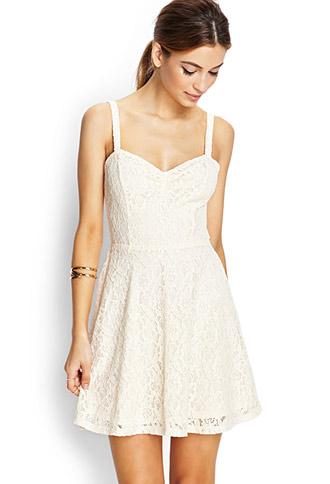 db6ff8b7cde Delicate Crochet Lace Dress