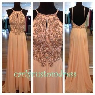 dress blush sequin dress