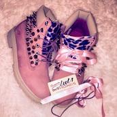 shoes,timberland boots studded,timberlands,pink timberlands,cardigan