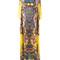 Roberto cavalli aztec print handkerchief dress, women's, size: 40, yellow/orange, cotton/silk/spandex/elastane/silk