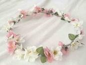 hat,flower crown,floral headband,flowers,indie,hipster,tumblr,rosy,headband,hippie headband,hippie,festival