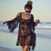 dress,gypsy,fashion,fashonista,style,stylish,trendy,2015summer trendy,black dress,black lace dress,sexy,party dress,sexy party dresses,colthing,black cats,boho,on point clothing,top,girl,gorgeous,date outfit,summer outfits,clothes,cropped,crop,lace,peasant dress,tumblr outfit,tumblr clothes,cover up,sexy dress,see through,beach,summer,women,evening dress