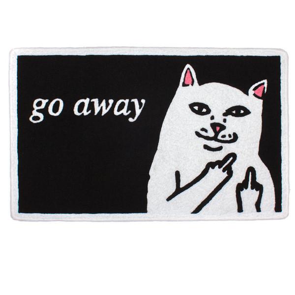 Go away rug