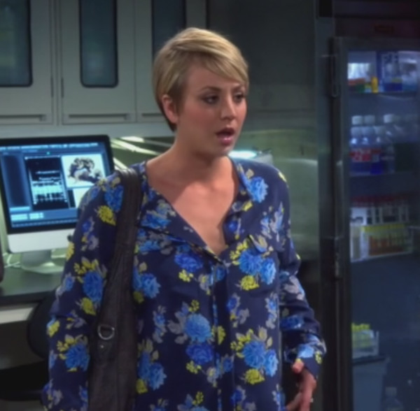 blouse big bang theory kaley cuoco penny