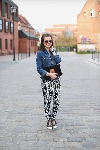 kapuczina blogger jewels shoes belt jacket romper sunglasses bag