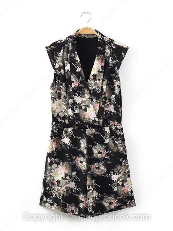 jumpsuit floral jumpsuit