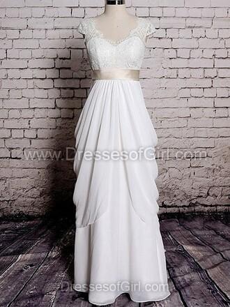 dress wedding dress wedding girly cute dressofgirl white love bride wedding accessories tulle skirt lace sparkle shiny amazing