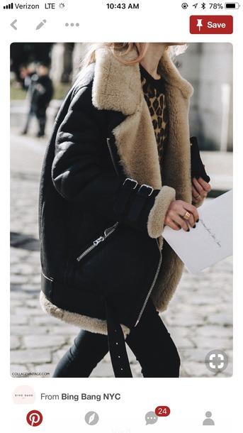 coat aviator jacket