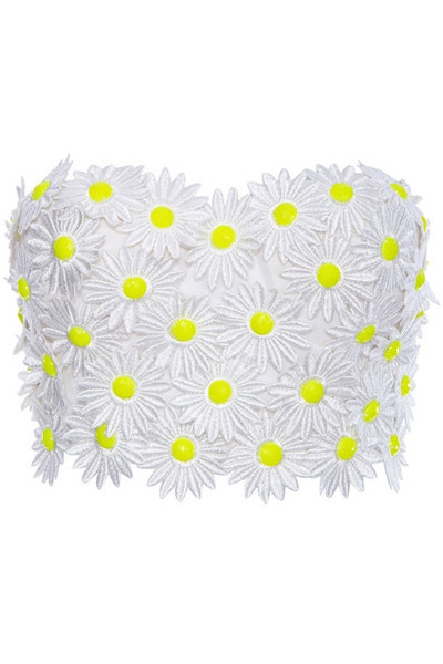 Daisy bustier – kitschy
