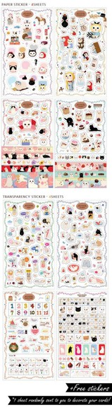 girly phone case cats kitty stickers phone