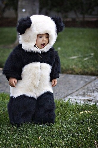 dress panda baby panda suit toddler kids fashion costume