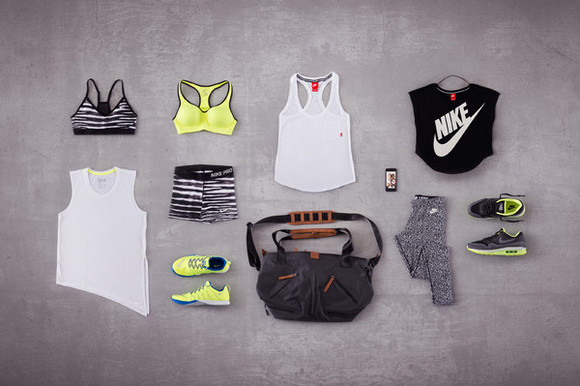 the blonde salad shoes bag t-shirt nike nike sportswear nike bra workout gym leggins