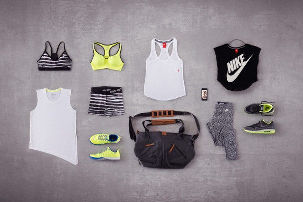 the blonde salad nike nike sportswear nike bra workout leggings gym bag sportswear sports bra workout sports shoes neon