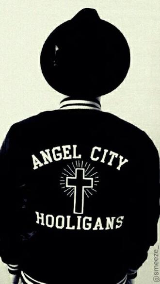 jacket hooligan cross