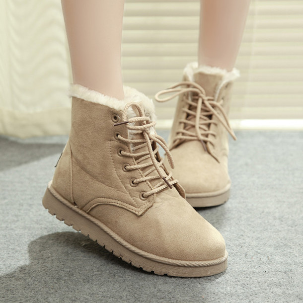 shoes ankle boots women winter snow boots fashion boots warm boots women  winter shoes woman women b116563bba