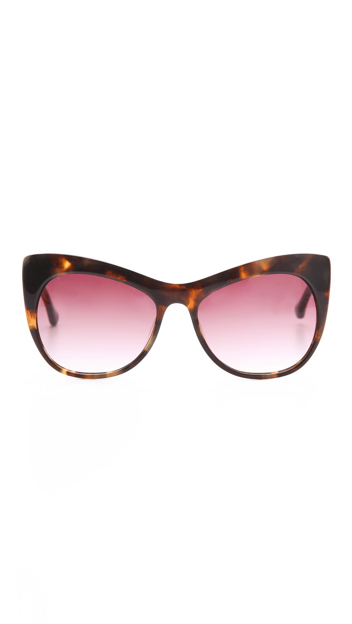 Elizabeth and James Lafayette Cat Eye Sunglasses | SHOPBOP