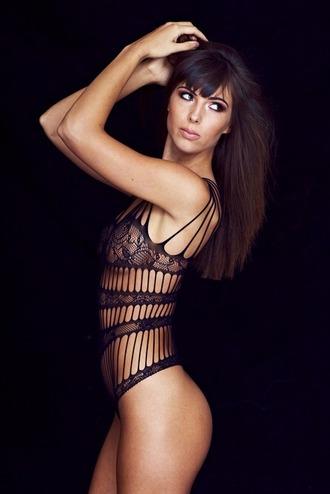 lingerie black underwear