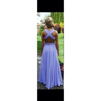 dress purple dress long dress prom dress graduation dress