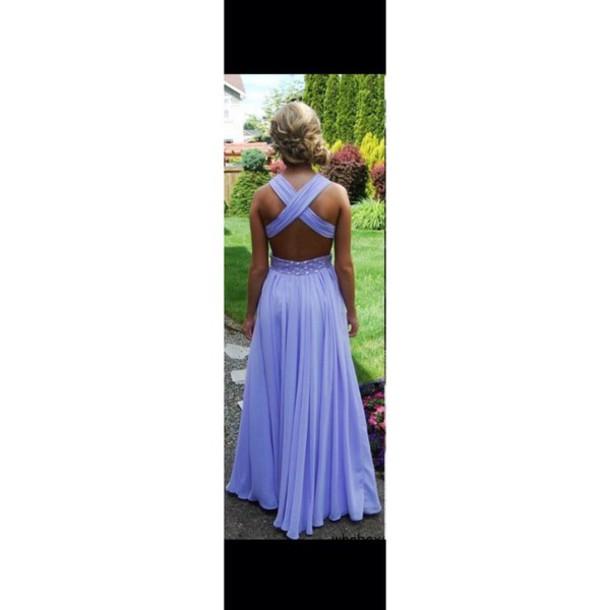 dress purple dress long dress prom dress
