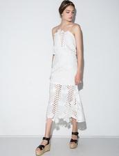 dress,alice mccall love light dress,alice mccall dress,pixiemarket,white dress,lace dress,crochet dress,white lace dress