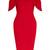 Vesper Lulu Keyhole Midi Dress - VESPER