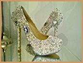 shoes,wedding dress,crystal,platform shoes,strictly come dancing,party,prom dress,unusual,customised,top,fashion,essex,only way is essex,wag,pumps,heels,hight heels,red sole,shiny,sparkle,newcrystalwaveshoes,newcrystalwavebling,newcrystalwave