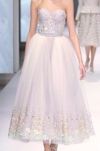 dress flowers chanel valentino wedding cute haute couture designer zuhair murad beautiful
