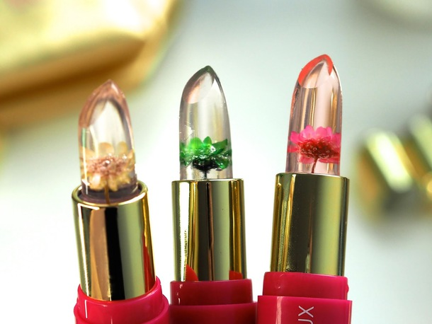 home accessory flower lipstick flowers floral lipstick lip balm clear lipstick lipstick
