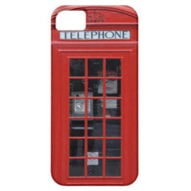 jewels telephone box london iphone case