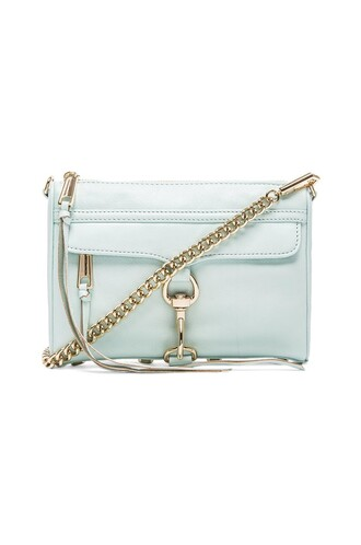 mini baby blue baby blue bag