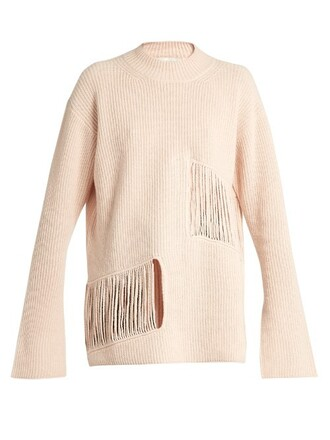 sweater oversized sweater oversized nude