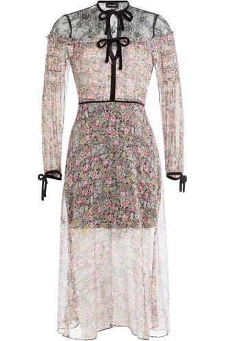 dress silk dress lace silk velvet