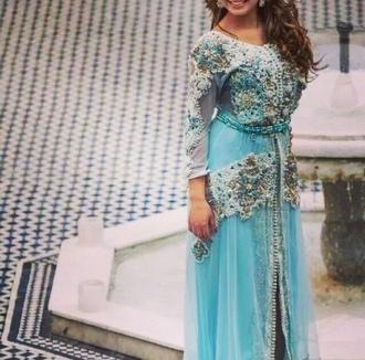 dress blue dress arabic dresses blue sari sari jewels blue skirt maxi dress long dress