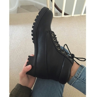shoes boots black boots black shoes black booties chunky shoes stylish style trending trendy trend trending  now well  dressed chill fashion inspo fresh popular popular blogger popular page popular demand popular post on point clothing