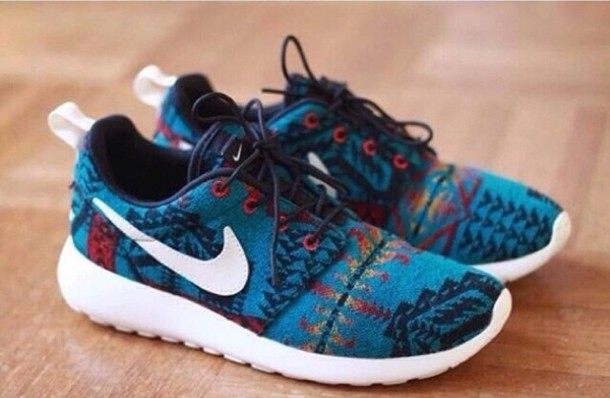 Roshe Run Women Pattern Roshe Run Pattern Nike