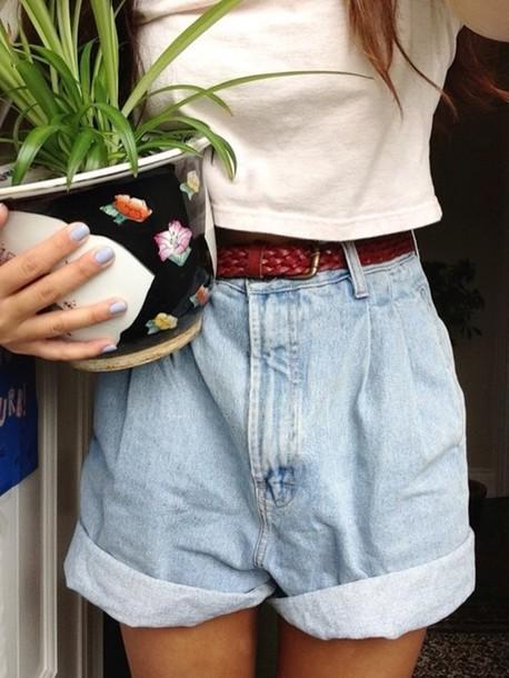 6e43522ff1 shorts, vintage, retro, denim shorts, retro shorts, boho, indie ...