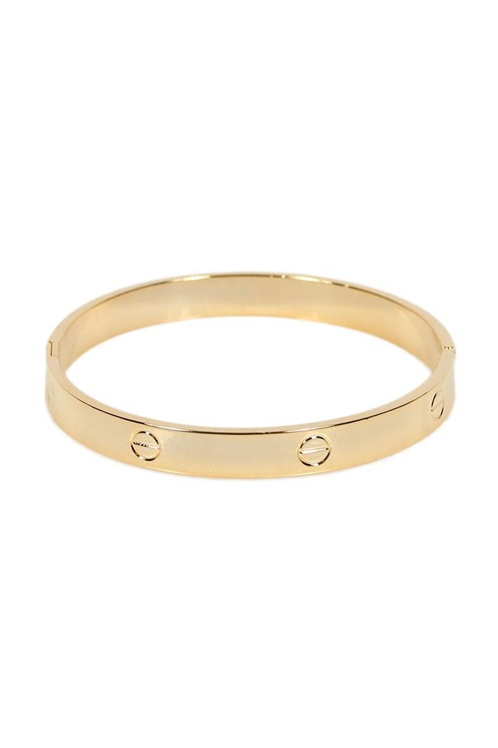 Designer look bracelet