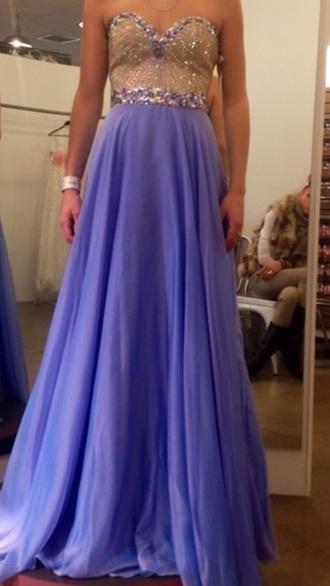 dress purple purple dress sherri hill prom dress special occasion sparkle sweetheart neckline gold long long prom dress long dress
