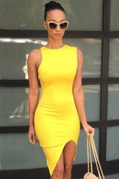 Sleeveless Bodycon Dresses